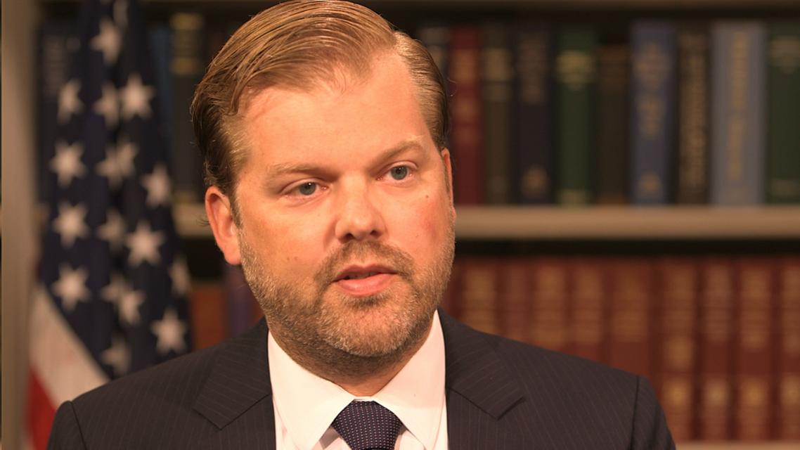 كريس باكماير، نائب منسق سياسة العقوبات في وزارة الخارجية الأميركية