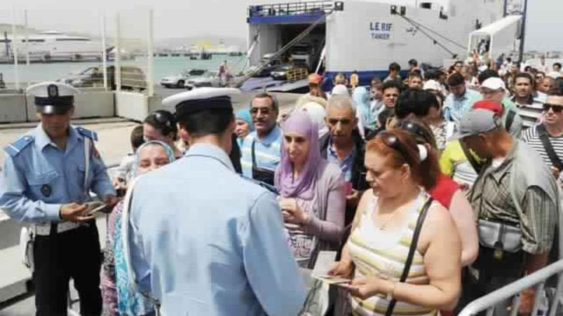 مغاربة مهاجرين