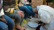 Pope to wash feet of Muslim, Orthodox, Hindu migrants