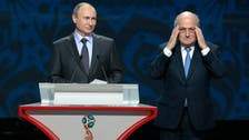 Blatter plans to attend 2018 World Cup as Putin's guest