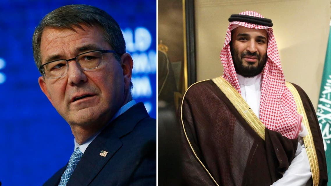 During the phone call, both Saudi Prince Mohammed bin Salman and US Defense Secretary Ash Carter also talked about Iran's role in the region and way of combatting violence and extremism in the region. (Reuters and AP)