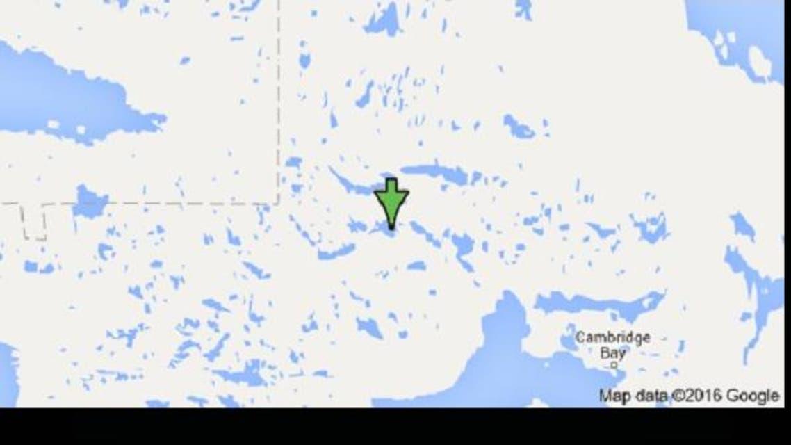 الجزيرة التائهة في متاهات الشمال الكندي عند الدائرة القطبية