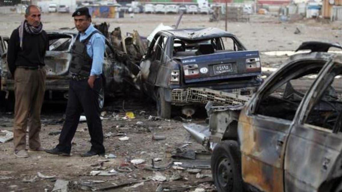 عراق،خود کش حملہ