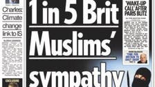 UK tabloid: story on British Muslims supporting ISIS was 'misleading'