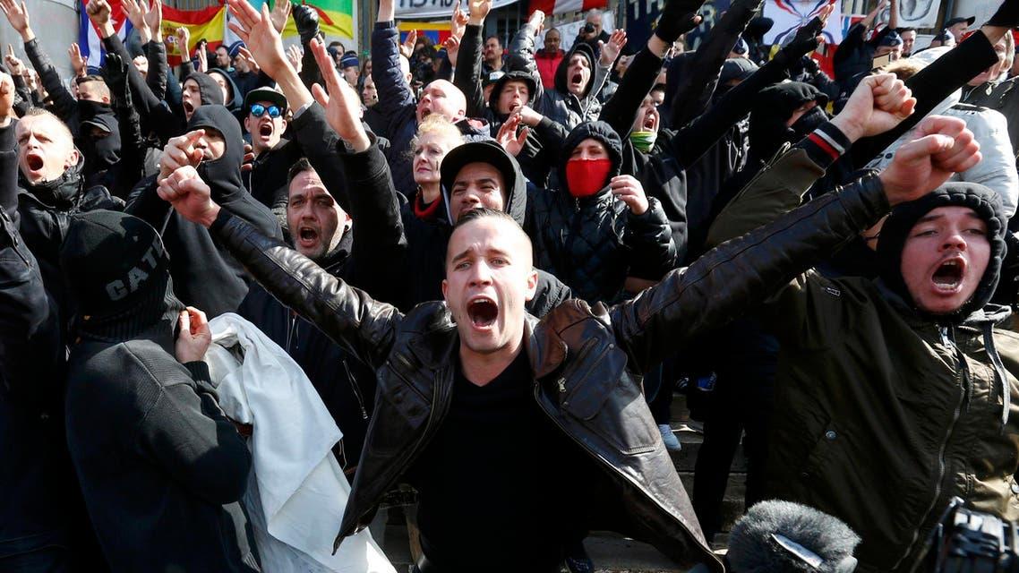 Belgians demonstrate against wave of terrorism
