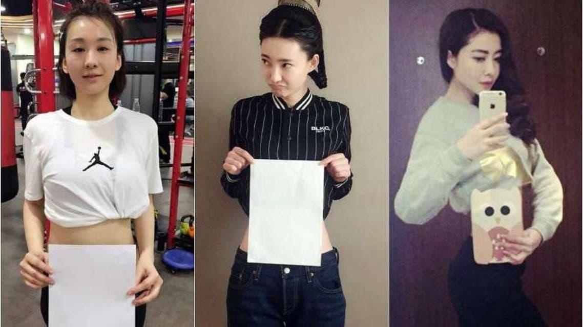 From left: Actress Mu Ting Ting, actress-singer Wang Li Kun and actress-model Lynn Hung. (Photo courtesy: WEIBO)