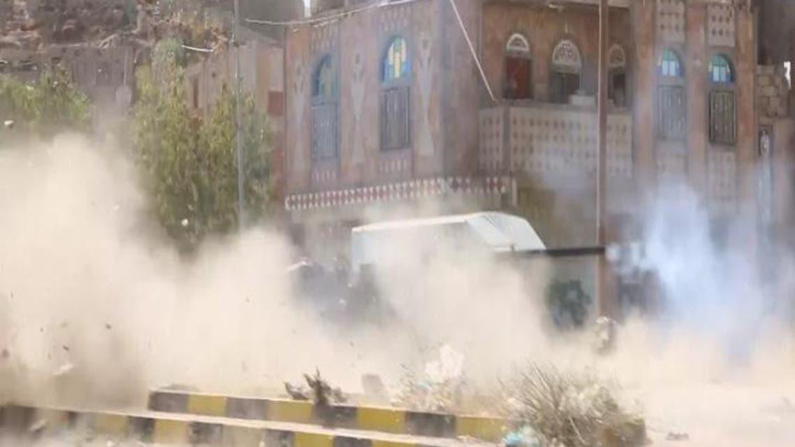 THUMBNAIL_ اليمن.. مقتل 10 من عناصر تنظيم القاعدة بقصف في أبين