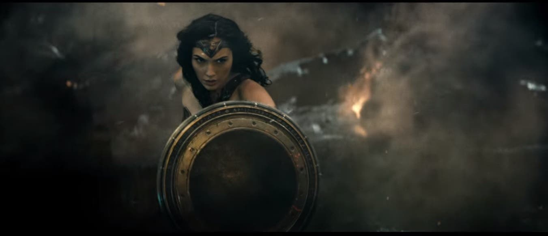 Wonder Woman in 'Batman v Superman'. (Screengrab: Youtube)