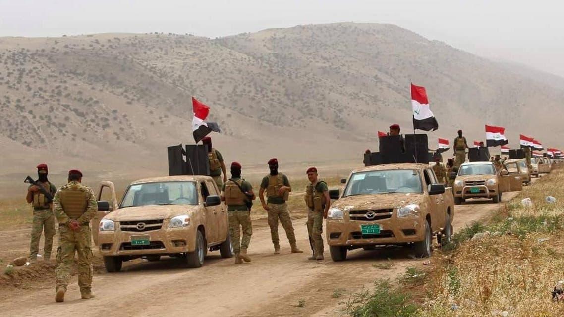 قوات عراقية تتقدم صوب الموصل