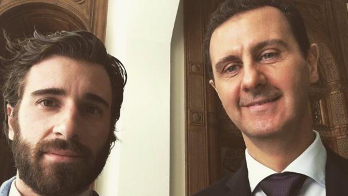 """صورة """"سيلفي"""" تفتح أبواب جهنّم على بشار الأسد"""