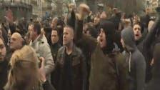 الشرطة البلجيكية تعتقل عدداً من المحتجين في بروكسل