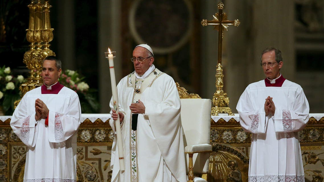 Francis is expected to offer a message of hope following his bleak condemnations on Good Friday and earlier of the attacks