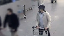 Belgium releases video footage of 3rd airport suspect