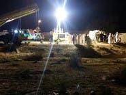 بالصور.. استخراج جثة سعودي سقط في بئر عمقها 50 متراً