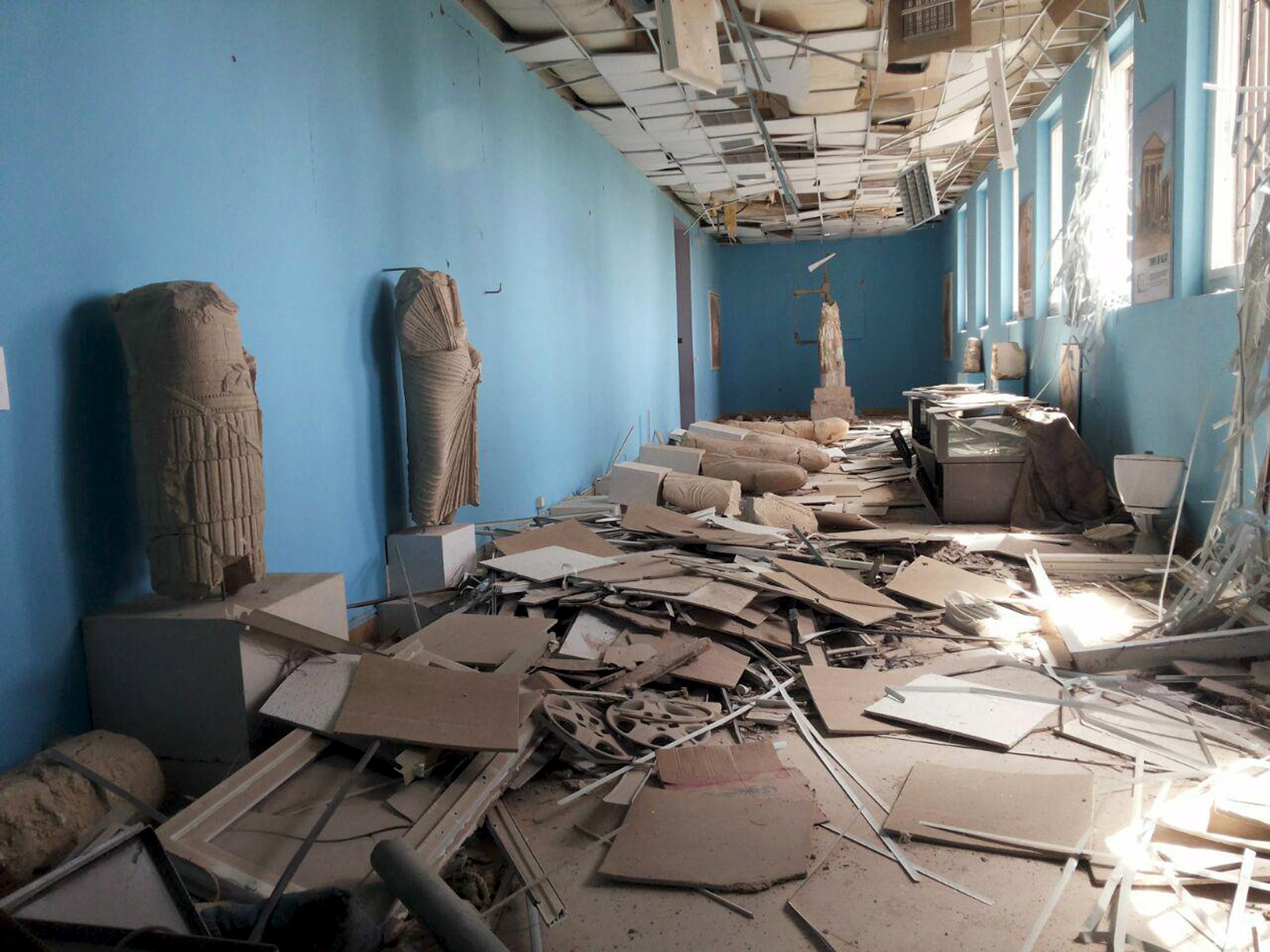 Palmyra after liberation from ISIS