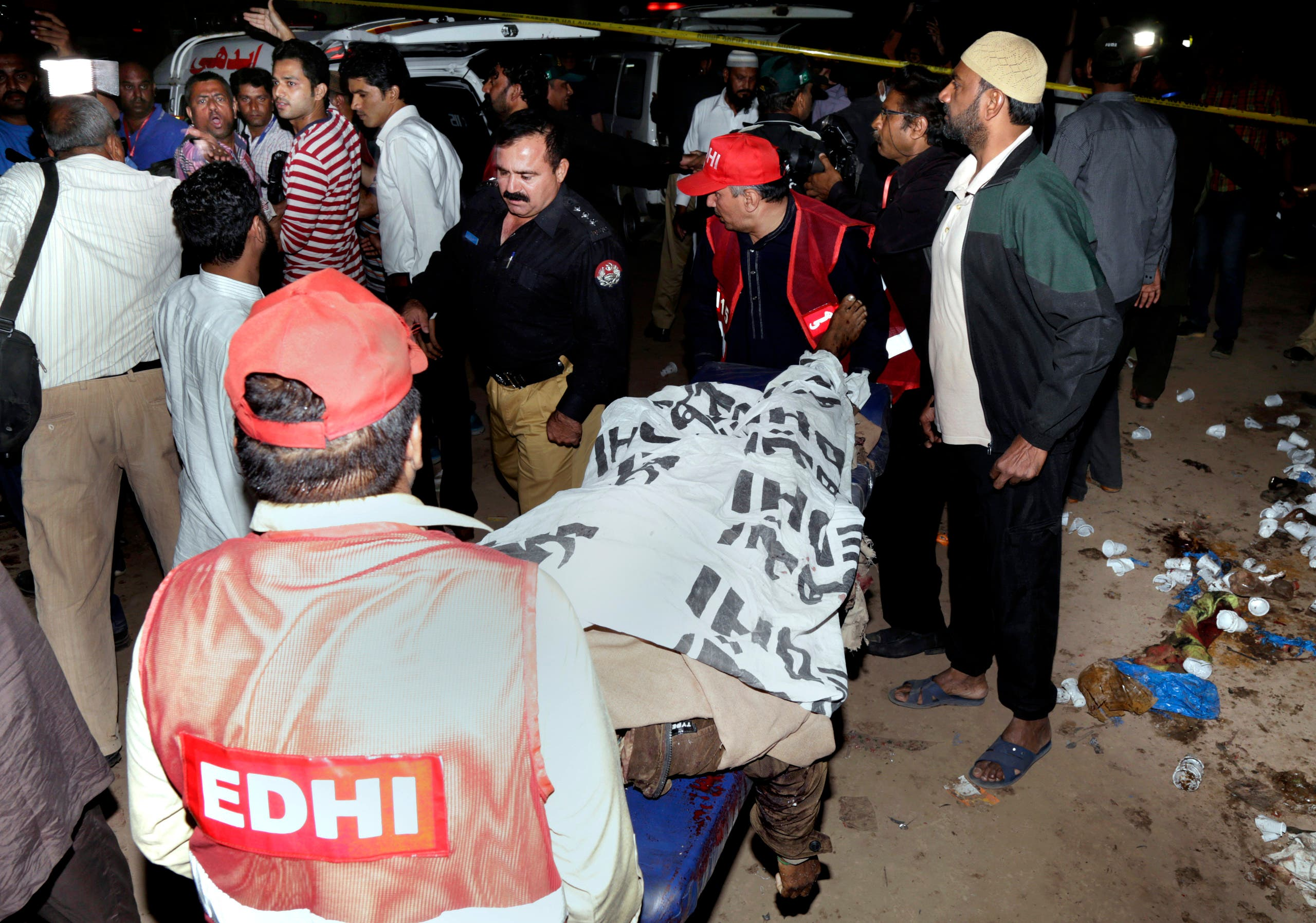 Terror grips Pakistan