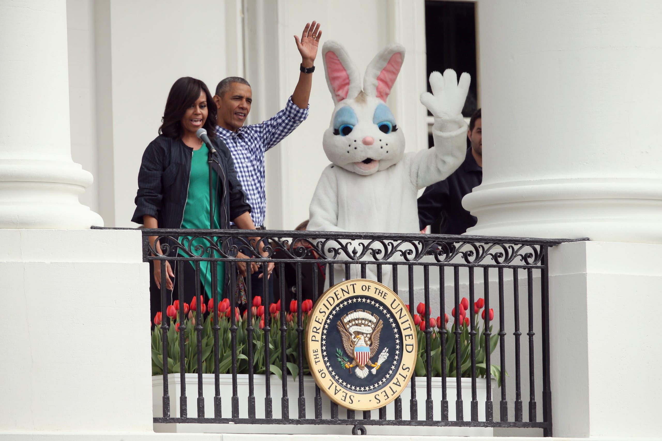 Obama's final Easter egg roll