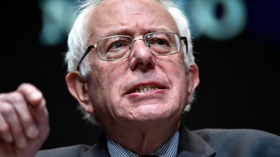 Democratic presidential candidate, Sen. Bernie Sanders, I-Vt. speaks at the National Association of Latino Elected and Appointed Officials, Friday, June 19, 2015, in Las Vegas. (AP)