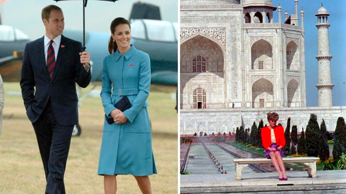 More than two decades after Britain's Princess Diana was pictured forlornly alone at the Taj Mahal, her son Prince William and his wife Kate will visit the Indian landmark REUTERS