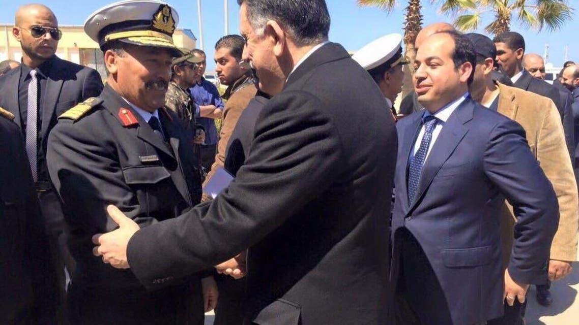 فايز السراج في طرابلس