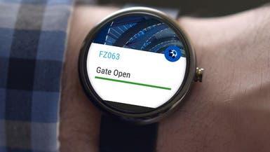 خدمات مطار دبي عبر ساعتك الذكية