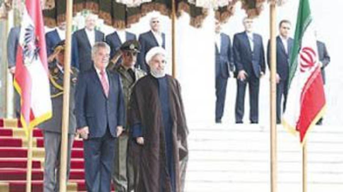 زيارة الرئيس النمساوي الصيف الماضي الى طهران