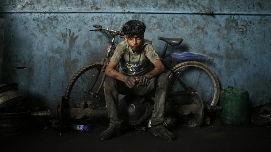 In the past five years, the number of working children between the ages of 10 and 17 has doubled to 9,700 in the territory. (Reuters)