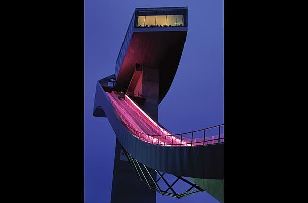 منصة التزحلق في أنسبروك- النمسا 2002
