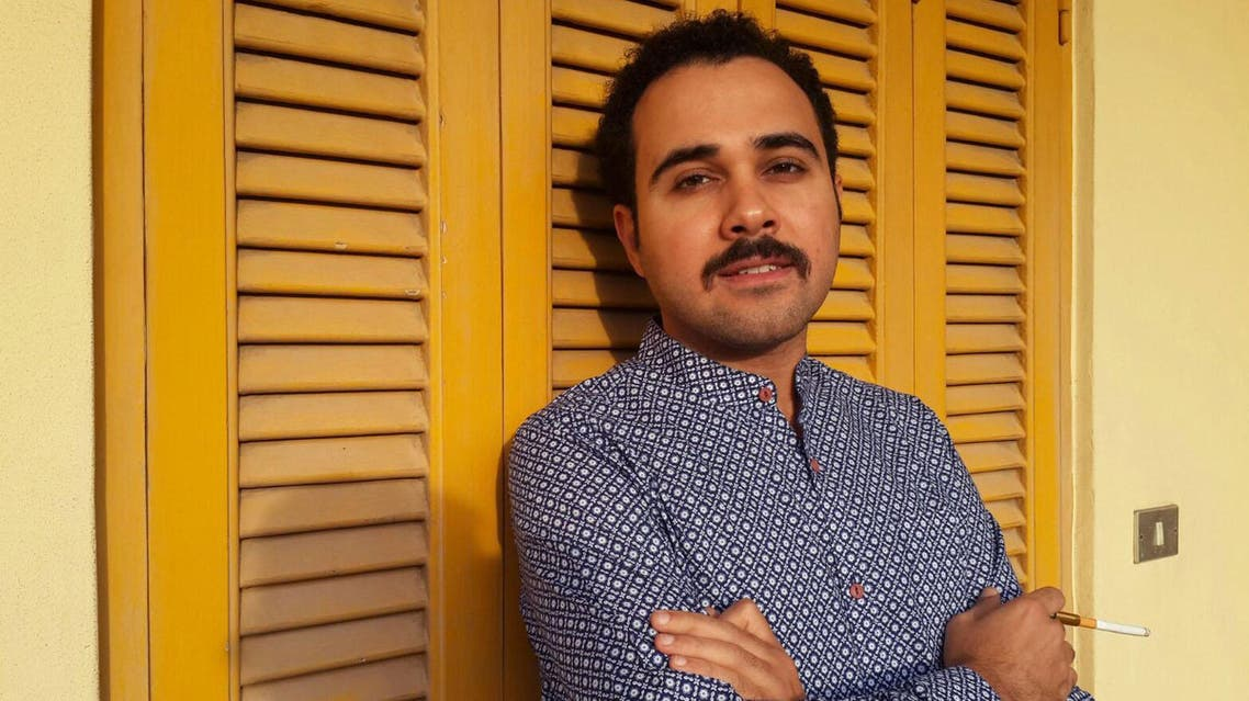 "In this undated image Egyptian author Ahmed Naji poses for a photo in Cairo, Egypt. Naji was sentenced to two years in jail on Saturday, Feb. 20, 2016, by a Cairo appeals court for publishing a sexually explicit excerpt of his novel that prosecutors said violated ""public modesty."" Naji was initially acquitted by another court, but prosecutors appealed the verdict. (Yasmin Hosam El Din via AP)"