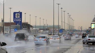 أمطار متوسطة في الرياض.. والدفاع المدني متأهب