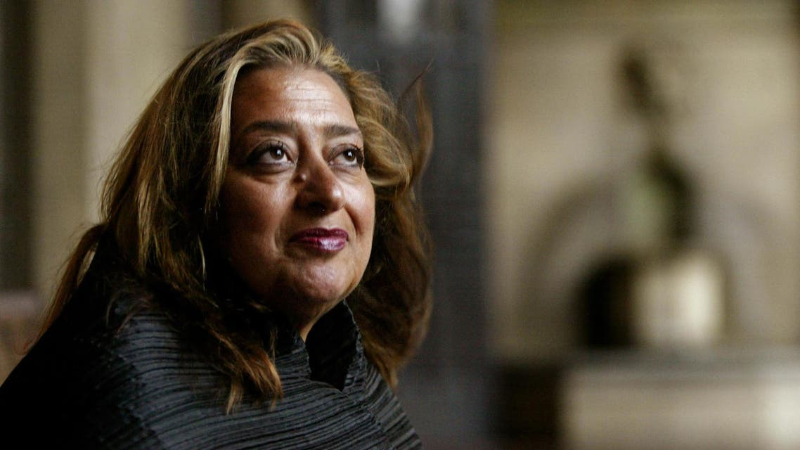 Zaha Hadid's futuristic designs used in buildings across the world