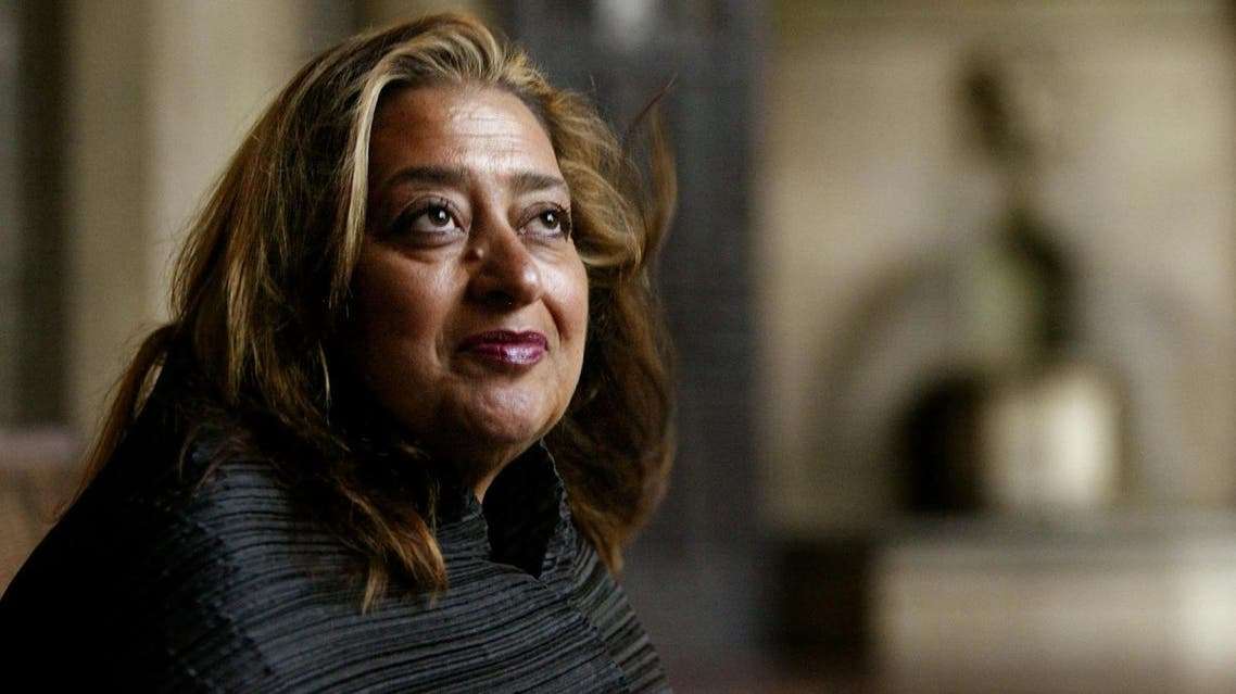 Hadid, an Iraqi-born architect who struggled for years to get her audacious and unconventional designs built. (AP)