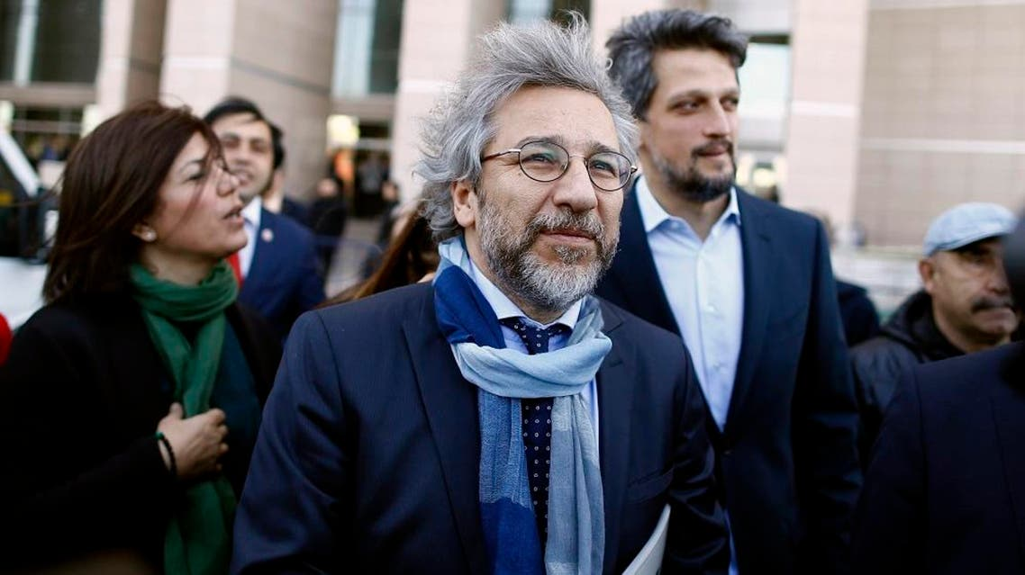 Can Dundar and Erdem Gul from the opposition daily Cumhuriyet  are charged with espionage and revealing state secrets. (Reuters)