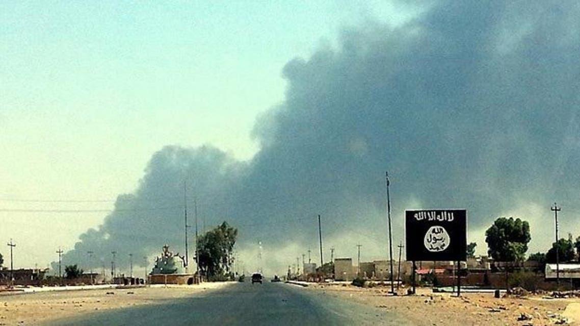 داعش في مدينة هيت في العراق