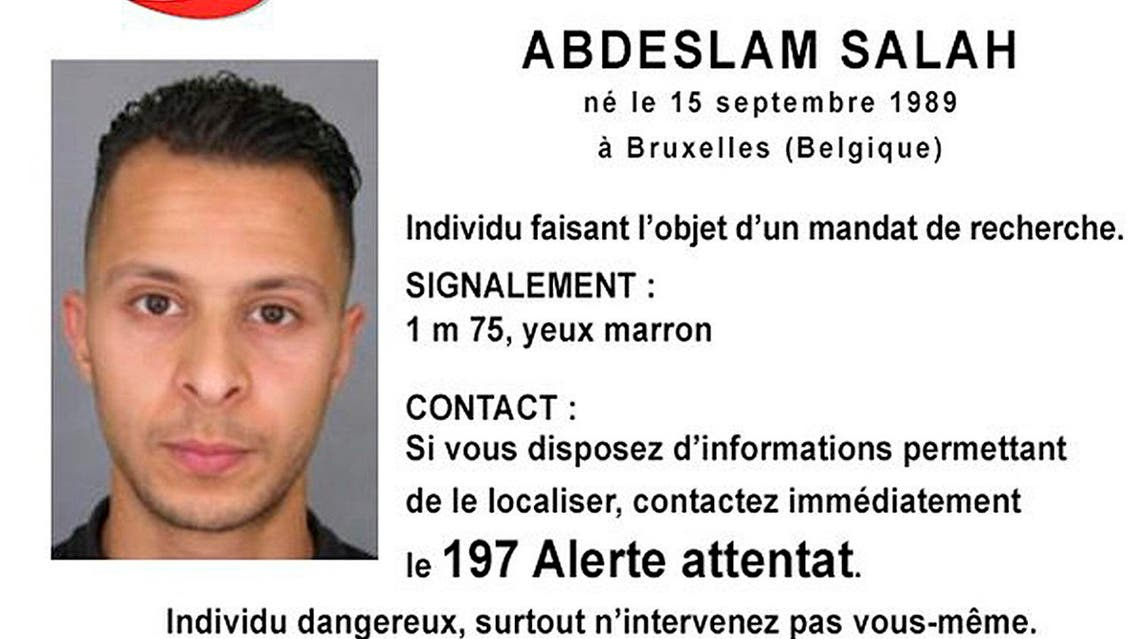 A Handout picture shows Belgian-born Abdeslam Salah seen on a call for witnesses notice released by the French Police Nationale information services on their twitter account. (Reuters)