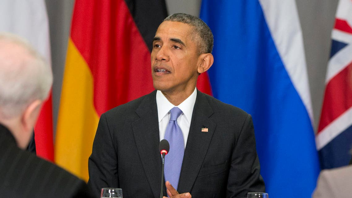 President Barack Obama speaks at a meeting of the Nuclear Security Summit in Washington, Friday, April 1, 2016. (AP)
