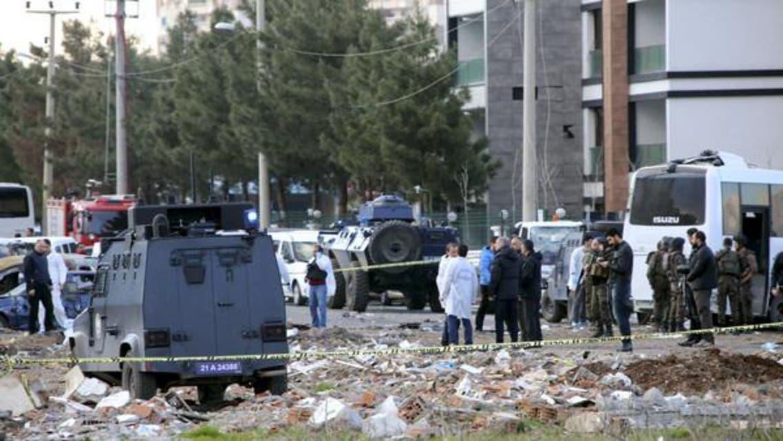 ترکی،دھماکہ