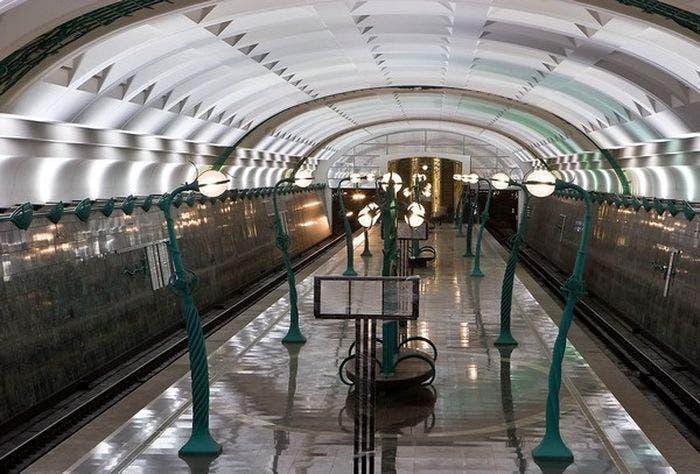 محطة مترو الرياض
