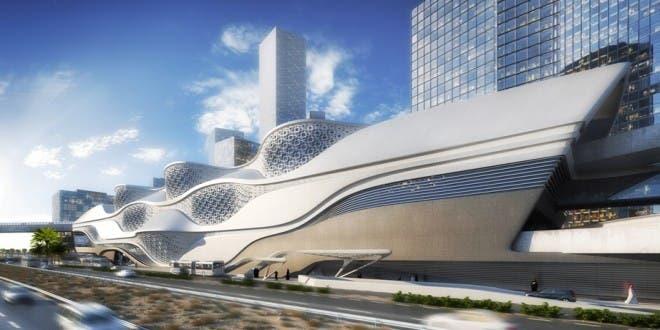 محطة مترو الرياض بالمركز المالي