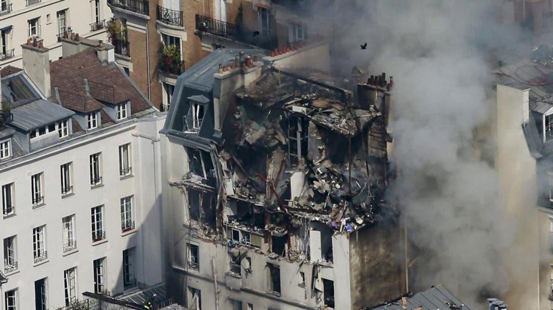 Paris, Gas explosion (EPA)