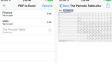 تطبيق PDF to Excel لتحويل ملفات PDF إلى إكسل