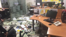 Beirut offices of Asharq al-Awsat daily attacked