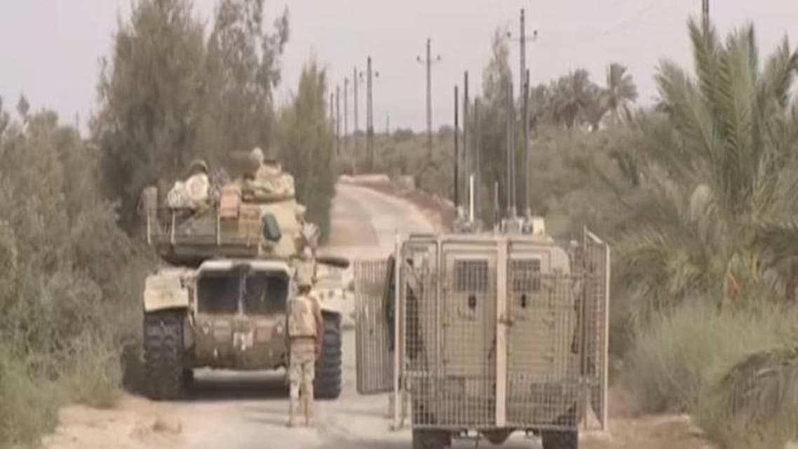THUMBNAIL_ الجيش المصري يقتل 65 إرهابيا في سيناء