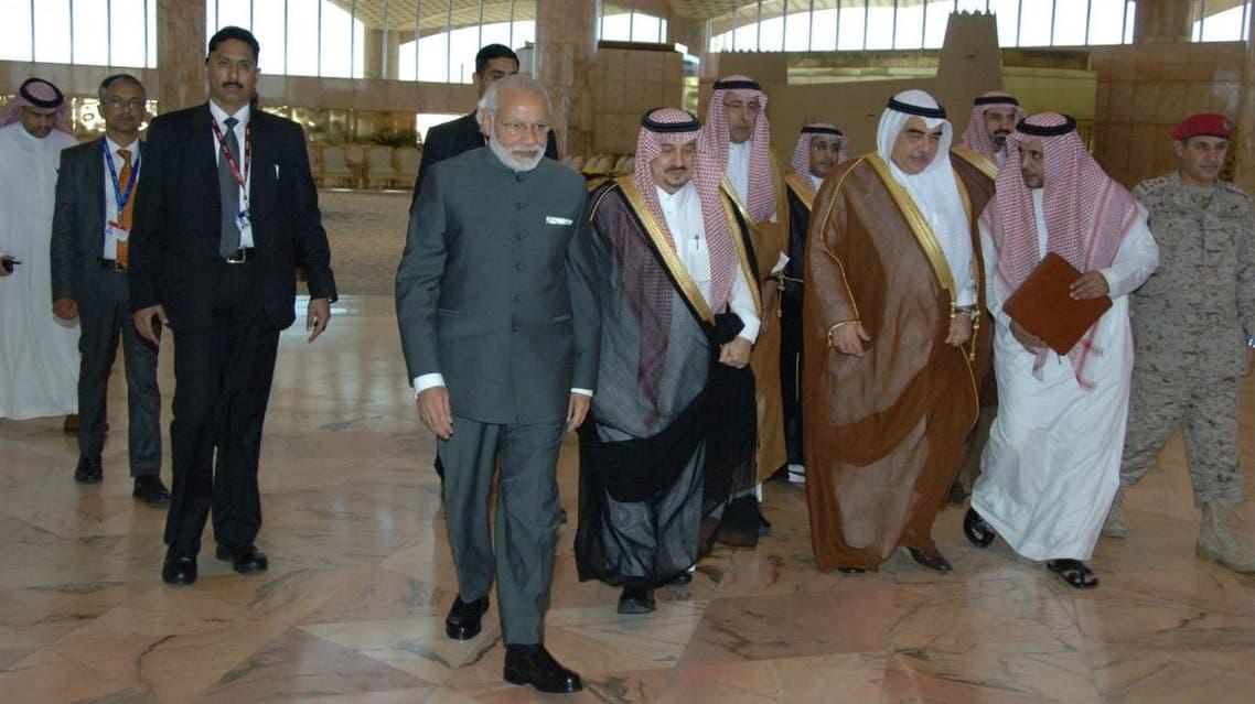 مودي رئيس وزراء الهند في السعودية