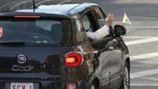 Fiat used by pope in New York fetches $300,000