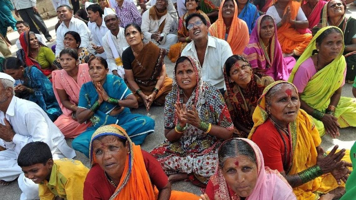 Around 80 percent of India's 1.2 billion population is Hindu, but the country is also home to large numbers of Muslims, Christians and Buddhists (File Photo: AFP)