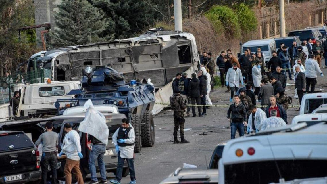 Turkey has been shaken this year by two attacks in the capital Ankara claimed by Kurdish rebels that killed dozens and two deadly bombings in Istanbul blamed on militants that targeted foreigners (File Photo: AFP)