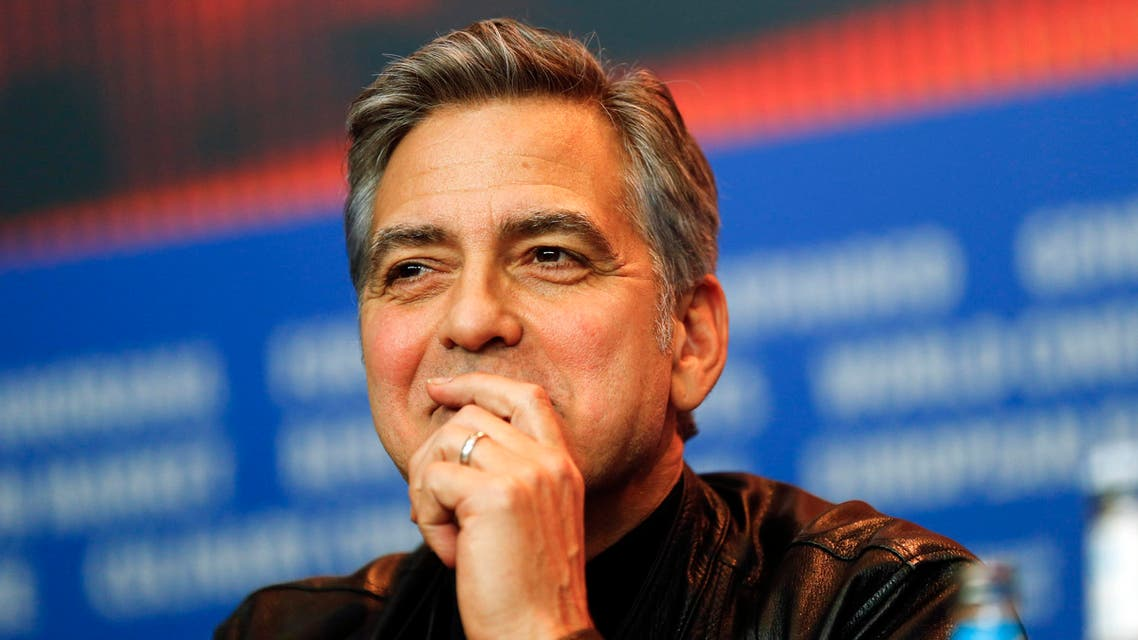 In this Thursday, Feb. 11, 2016 file photo, actor George Clooney attends a press conference for the film 'Hail Caesar' at the 2016 Berlinale Film Festival in Berlin, Germany.