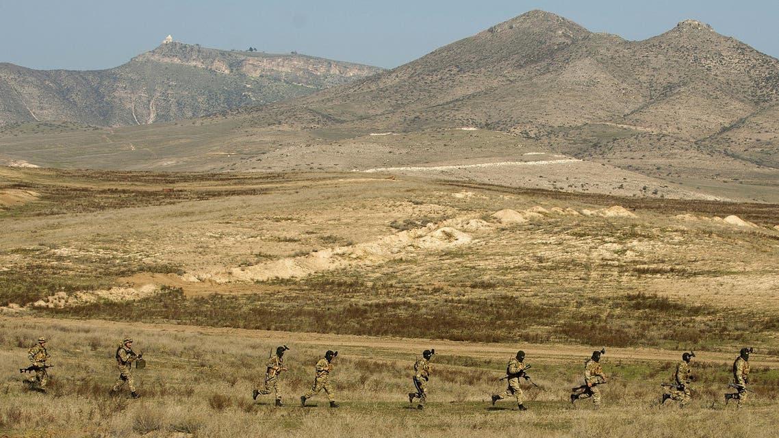 منطقة ناغورني قره باغ المتنازع عليها بين ارمينيا و اذربيجان