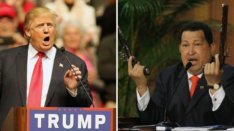 Donald Trump Hugo Chavez. (AP)
